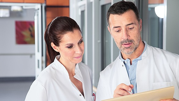 Compressão clínica da medi