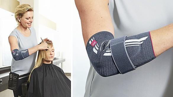 Suportes elásticos para o cotovelo da medi para o desporto e para o dia-a-dia - Suportes elásticos para o cotovelo da medi para o desporto e para o dia-a-dia
