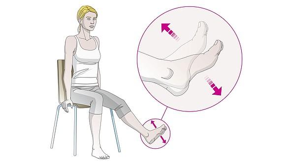 Ser podem reparadas pernas as válvulas das veias das